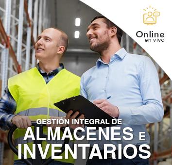 Gestion Integral de ALMACENES e INVENTARIOS - Online en VIVO