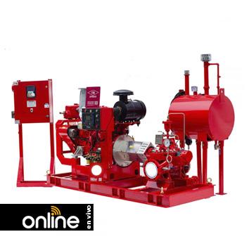 NFPA 20: Sistemas de Bombeo (Bombas contra incendios)