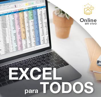 EXCEL para TODOS - Online en VIVO -