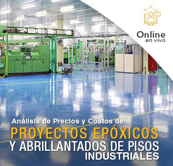 Análisis de Precios y Costos de PROYECTOS EPÓXICOS Y ABRILLANTADOS DE PISOS INDUSTRIALES -Online en VIVO-