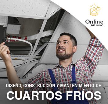 DISEÑO, CONSTRUCCIÓN Y MANTENIMIENTO DE CUARTOS FRÍOS-Online en VIVO-