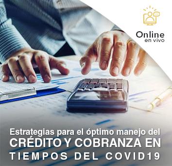 Estrategias para el optimo manejo del CRÉDITO Y COBRANZA EN TIEMPOS DEL COVID19 - Online en VIVO -