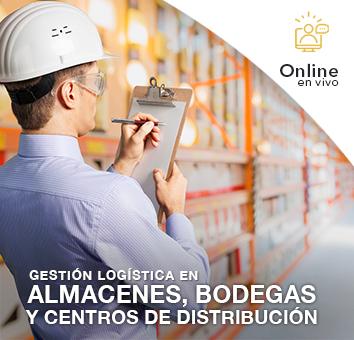 Gestión Logística en Almacenes, Bodegas y Centros de Distribución - Online en VIVO