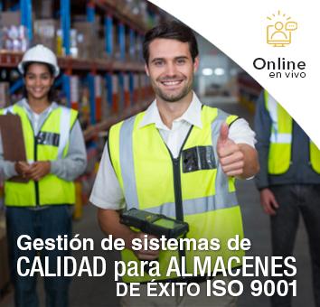 Gestión de sistemas de CALIDAD para ALMACENES DE ÉXITO ISO 9001 -Online en VIVO-