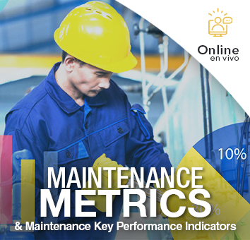 Maintenance metrics y Maintenance Key Performance Indicators-Online en VIVO-