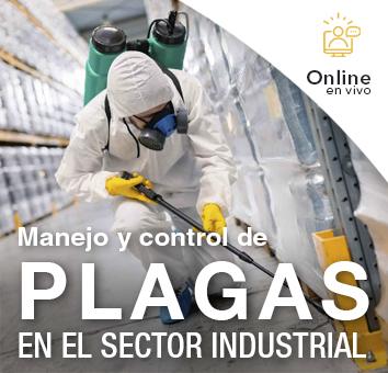 Manejo y control de PLAGAS EN EL SECTOR INDUSTRIAL -Online en VIVO-