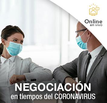 NEGOCIACIÓN en tiempos del CORONAVIRUS -Online en VIVO-