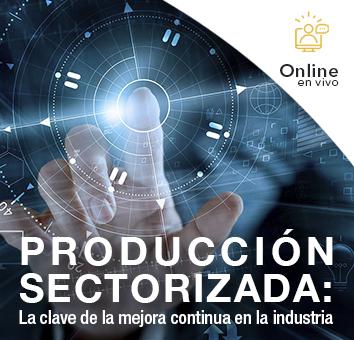 PRODUCCIÓN SECTORIZADA: La clave de la mejora continua en la industria -Online en VIVO-