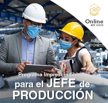 Programa Imprescindible para el JEFE de PRODUCCIÓN Online en VIVO