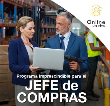 Programa Imprescindible para el Jefe de COMPRAS -Online en VIVO-