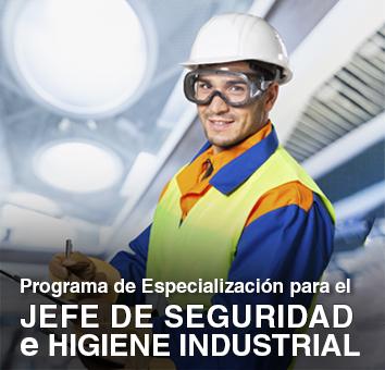 Programa de Especializacion para el JEFE de SEGURIDAD E HIGIENE INDUSTRIAL