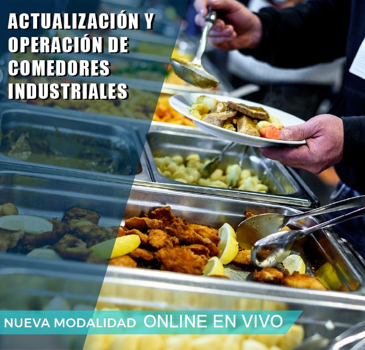 ACTUALIZACION Y OPERACION DE COMEDORES INDUSTRIALES