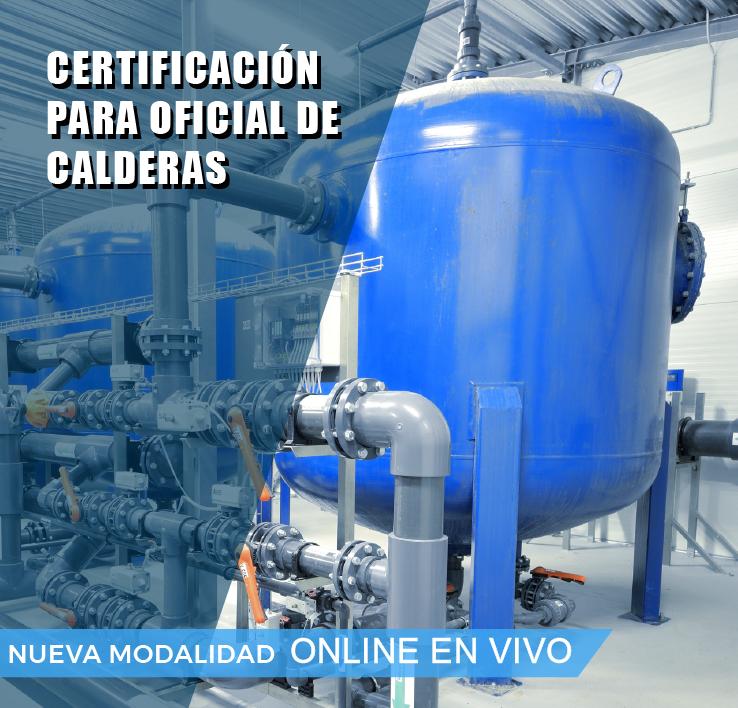 CERTIFICACION OFICIAL PARA OPERADOR DE CALDERAS