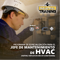 Programa de Especialización para el JEFE DE MANTENIMIENTO DE HVAC(Heating, ventilation and air conditioning)